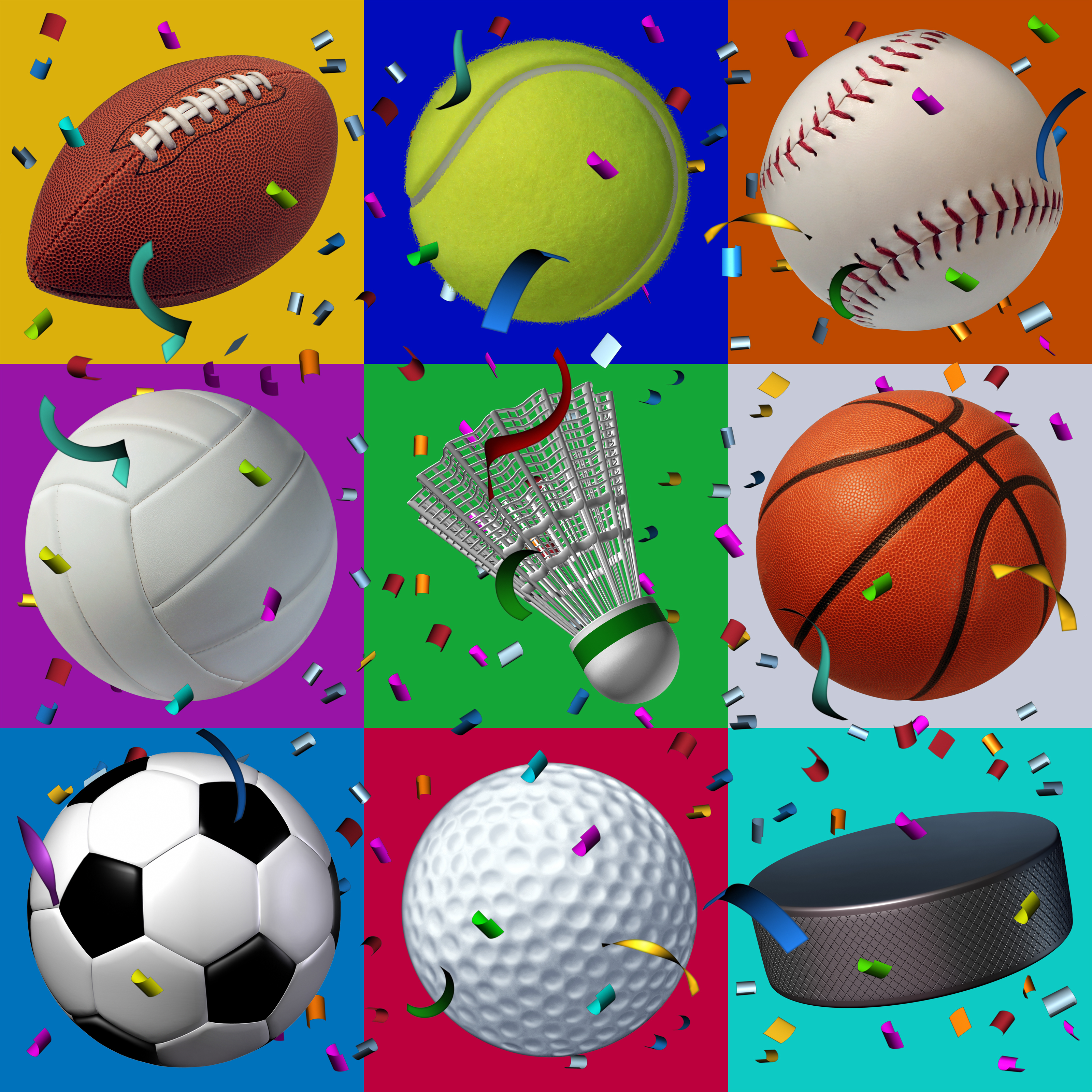 sports birthday parties icon