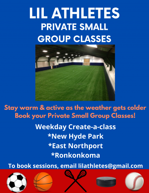 Private Sports Pod Classes-Start your own Class!