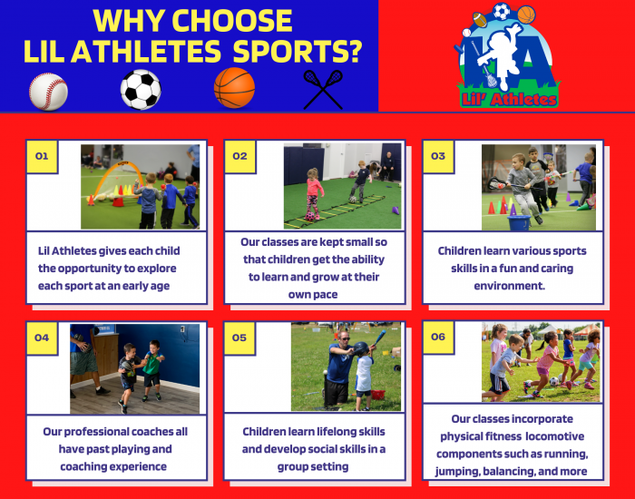 Lil Athletes story board